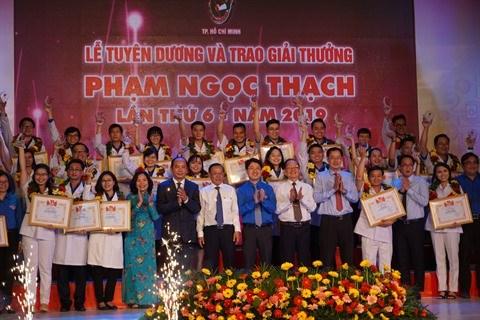 Ho Chi Minh-Ville : Ceremonie de remise du prix Pham Ngoc Thach 2019 hinh anh 1