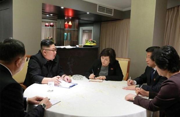 Le leader nord-coreen effectuera une visite d'amitie officielle les 1er et 2 mars au Vietnam hinh anh 1