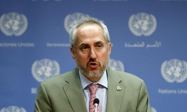 Sommet Etats-Unis-RPDC : l'ONU se felicite du 2e sommet Etats-Unis-RPDC hinh anh 1