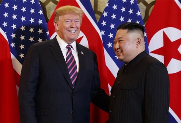 Le president americain parle d'une conference de presse apres le 2e Sommet Etats-Unis – RPDC hinh anh 1