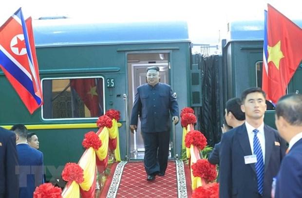 La visite au Vietnam du president de la RPDC, jalon historique des relations bilaterales hinh anh 1
