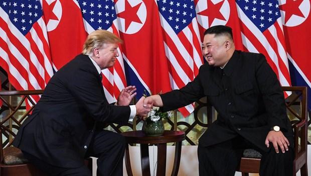 """Le Sommet Etats-Unis – RPDC """"a bien demarre"""" a Hanoi hinh anh 1"""
