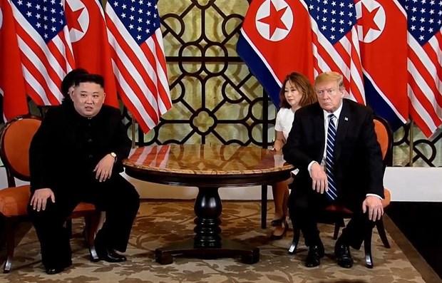 Sommet Etats-Unis-RPDC : les dirigeants vont signer un accord commun hinh anh 1
