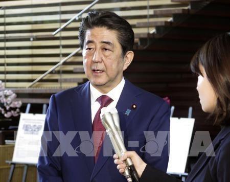 Le Japon soutient la decision du president americain hinh anh 1