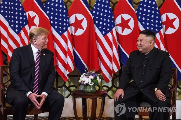 Sommet Etats-Unis-RPDC : Trump appelera Moon apres le sommet de Hanoi hinh anh 1