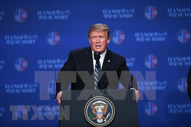 Sommet Etats-Unis-RPDC : desaccord sur la levee des sanctions hinh anh 1
