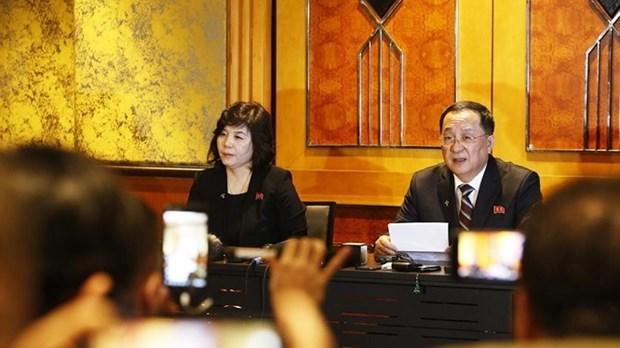 Conference de presse : la RDPC annonce la