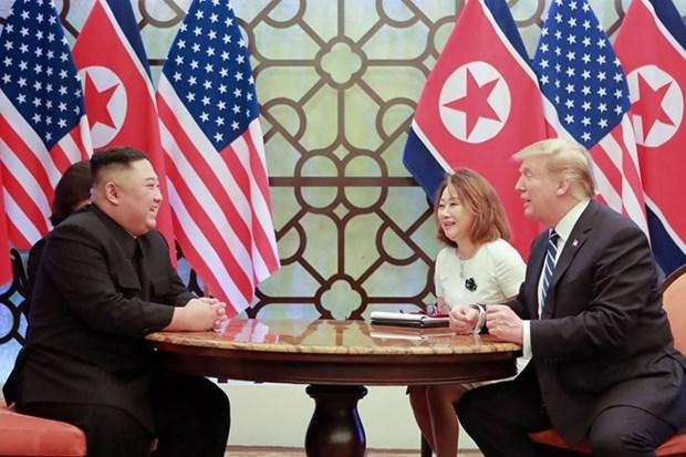 Le 2e sommet Etats-Unis-RPDC jette les bases a des progres hinh anh 1