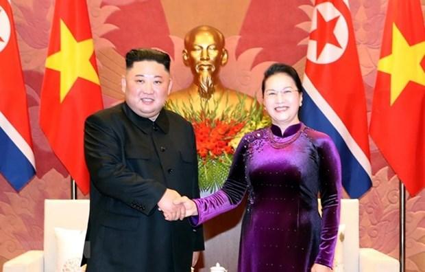 Le Vietnam cherit son amitie traditionnelle avec la RPDC hinh anh 1