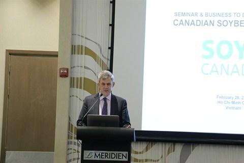 Soya: des entreprises canadiennes sondent les opportunites au Vietnam hinh anh 1