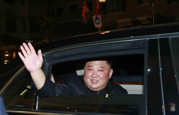 Le president nord-coreen Kim Jong-un quittera le Vietnam hinh anh 1
