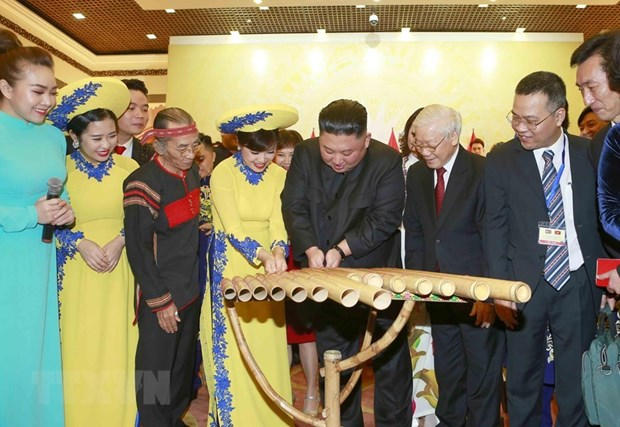 Banquet en l'honneur du president nord-coreen en images hinh anh 7