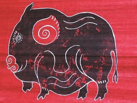 La peinture folklorique de Kim Hoang s'offre une seconde jeunesse hinh anh 1