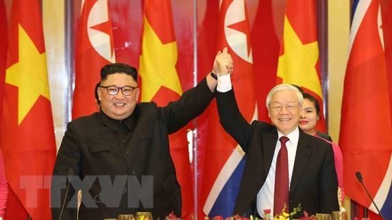 Banquet en l'honneur du president nord-coreen en images hinh anh 4