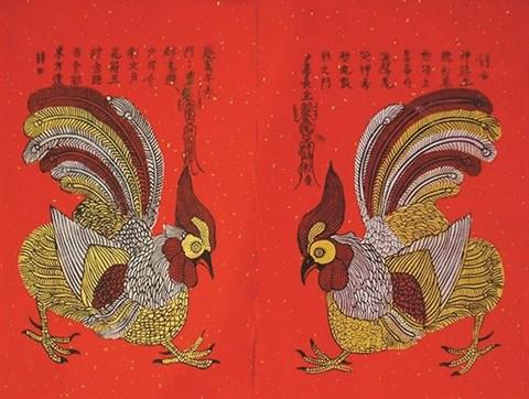 La peinture folklorique de Kim Hoang s'offre une seconde jeunesse hinh anh 3