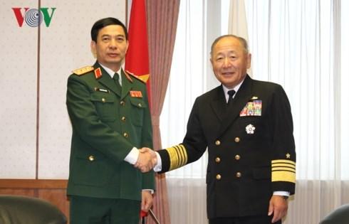 Le Vietnam et le Japon promeuvent la cooperation dans la defense hinh anh 1