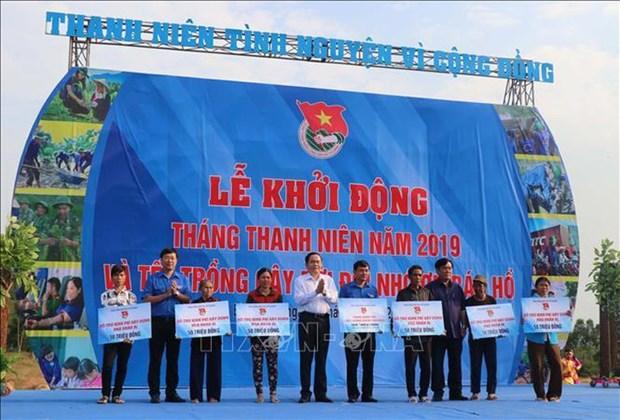 Les jeunes volontaires se mettent au service de la communaute hinh anh 1