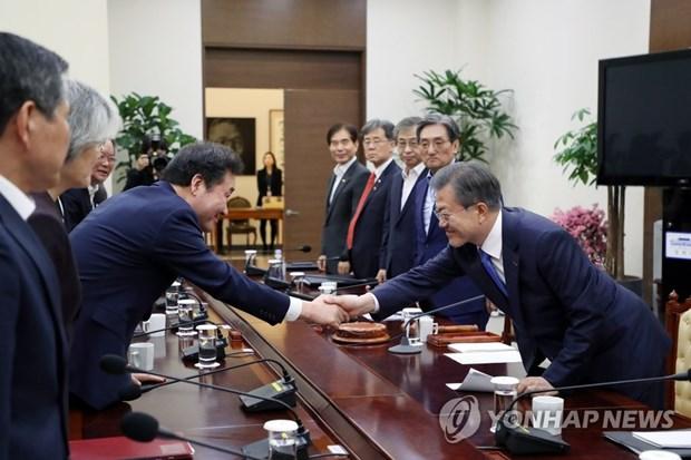 Seoul en faveur de discussions trilaterales pour retablir les pourparlers Etats-Unis-RPDC hinh anh 1