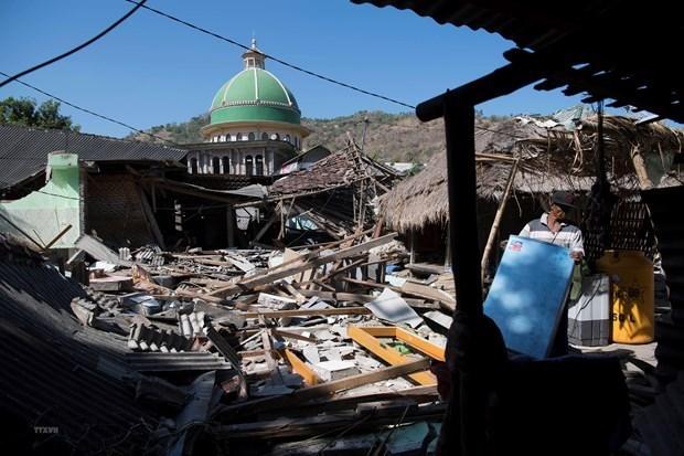 L'Indonesie accelere la construction de logements pour les victimes du seisme hinh anh 1