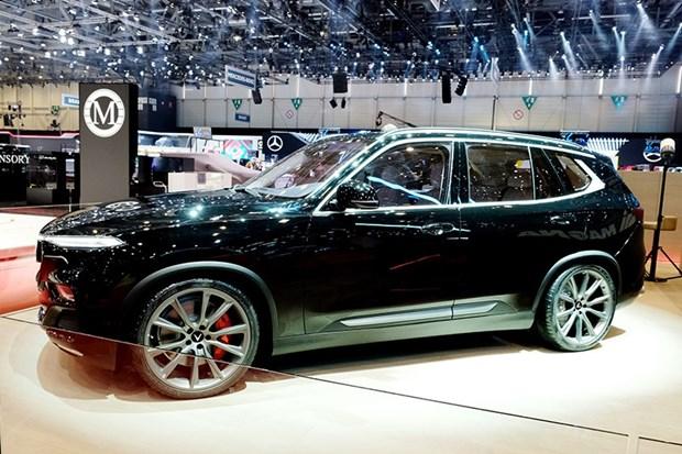 VinFast devoile en edition limitee la SUV Lux en Suisse hinh anh 1