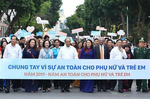 """Le bonheur et la securite des femmes et des enfants, """"la finalite d'action publique"""" hinh anh 1"""