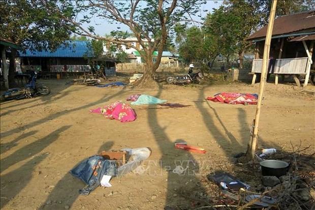 Myanmar: neuf policiers tues dans une attaque rebelle dans l'Etat Rakhine hinh anh 1