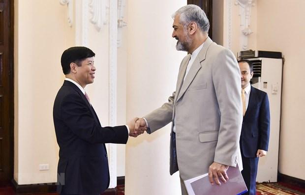 Le Vietnam et l'Iran promeuvent des relations de cooperation bilaterales hinh anh 1