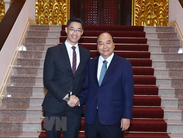 Le PM Nguyen Xuan Phuc recoit l'economiste allemand Philipp Rosler hinh anh 1