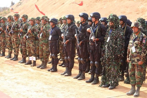 Le Cambodge et la Chine lancent l'exercice militaire Dragon d'or hinh anh 1