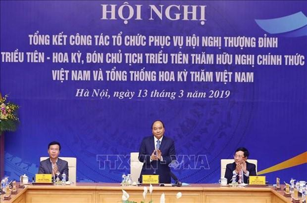 L'accueil reussi du Sommet Etats-Unis-RPDC rehausse le prestige du Vietnam hinh anh 1