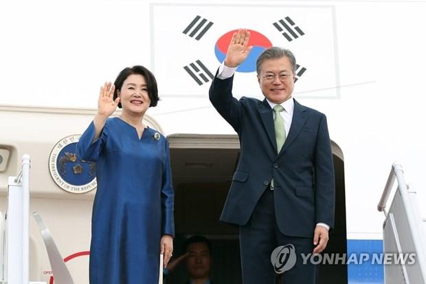Le president sud-coreen en visite en Malaisie hinh anh 1