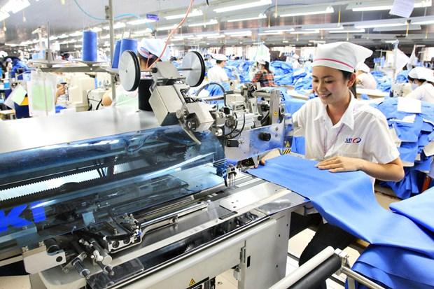 L'industrie textile nationale vise 40 milliards d'USD d'exportation cette annee hinh anh 1