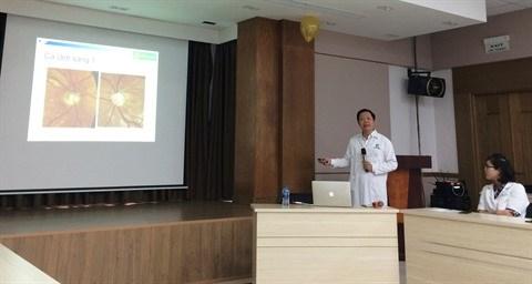 Une nouvelle campagne de prevention contre le glaucome hinh anh 1