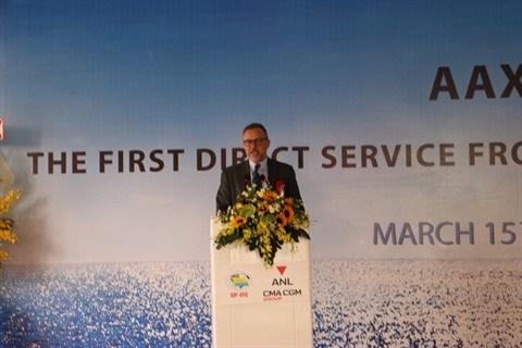 Le premier service de fret maritime direct Vietnam-Australie lance au Sud hinh anh 2