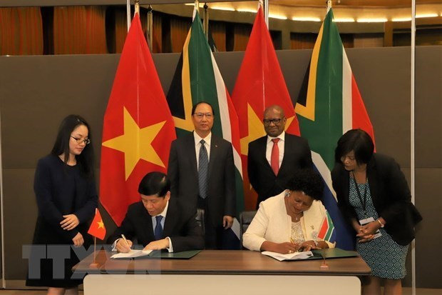 Le Vietnam et l'Afrique du Sud veulent renforcer leur cooperation hinh anh 1