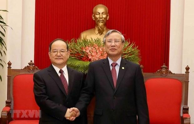 Le Vietnam plaide pour le partenariat strategique avec la Chine hinh anh 2