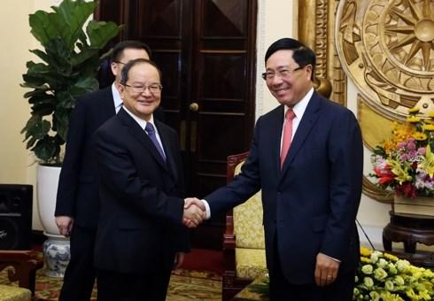 Renforcement des relations de cooperation Vietnam-Chine hinh anh 1