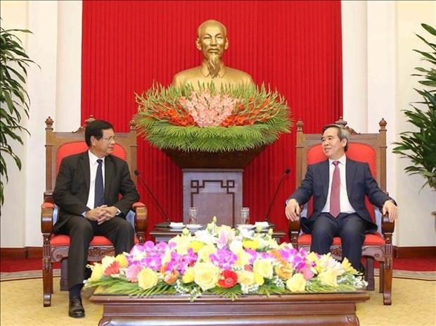 Les potentiels de cooperation Vietnam-Laos restent enormes hinh anh 1