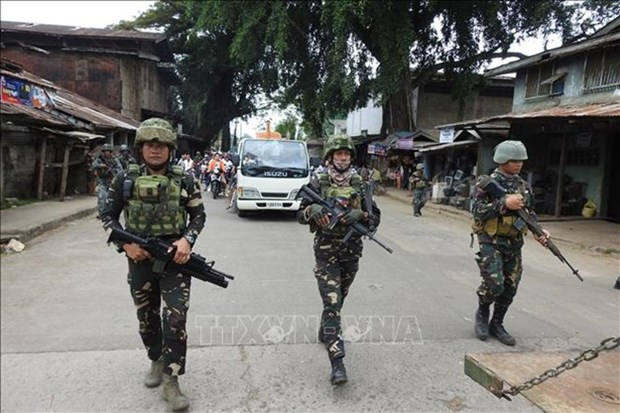 Les Philippines intensifient les operations antiterroristes hinh anh 1