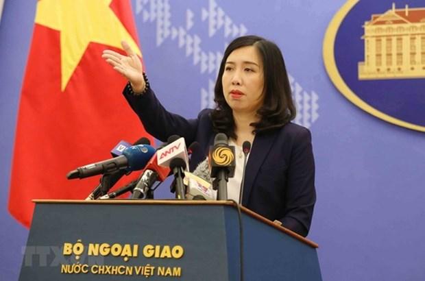 Le Vietnam s'oppose a l'exercice de tir reel de Taiwan (Chine) sur l'ile de Ba Binh hinh anh 1