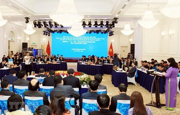 Des provinces vietnamiennes et la province chinoise du Guangxi renforcent leur cooperation hinh anh 1