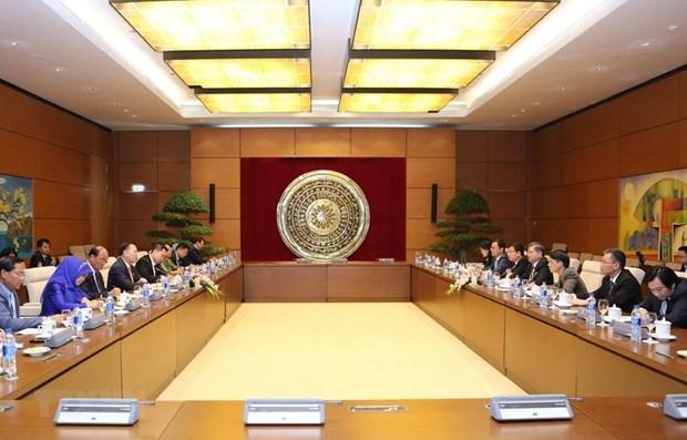 Vietnam-Cambodge : renforcement de la cooperation entre les deux organes legislatifs hinh anh 1