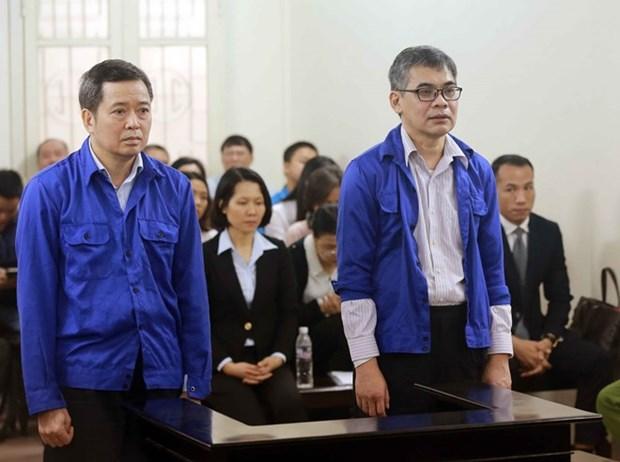 Deux anciens responsables de Vietsovpetro condamnes hinh anh 1