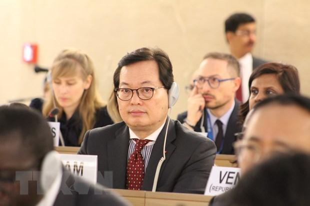 Cloture de la 40e session du Conseil des droits de l'homme de l'ONU hinh anh 1