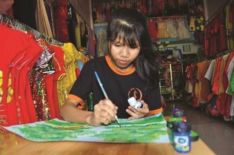 Thach Chanh Do peint pour elle et pour la vie hinh anh 1