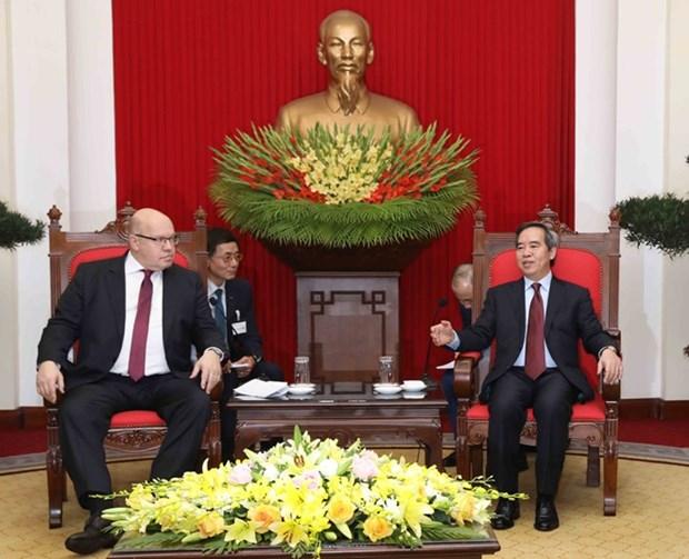Le Vietnam attache de l'importance aux relations avec l'Allemagne hinh anh 1