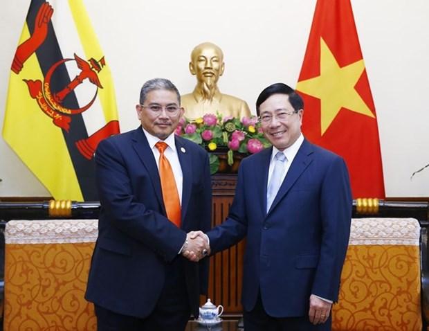 Le Vietnam et le Brunei soulignent l'importance d'une connectivite accrue hinh anh 1