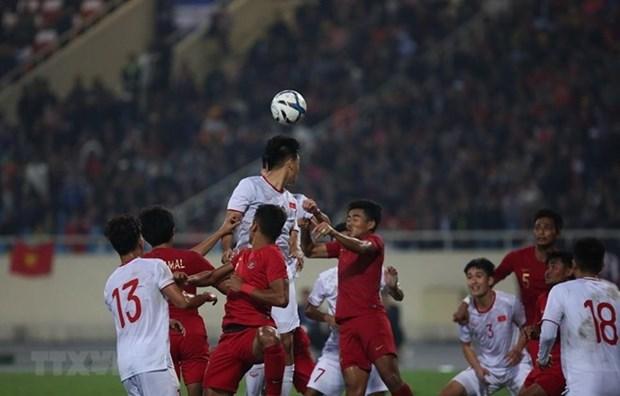 Le Vietnam bat l'Indonesie 1 a 0 lors des qualifications de l'AFC U23 hinh anh 1