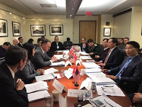 Le 10e dialogue Vietnam-Etats-Unis en matiere de politique, de securite et de defense hinh anh 1