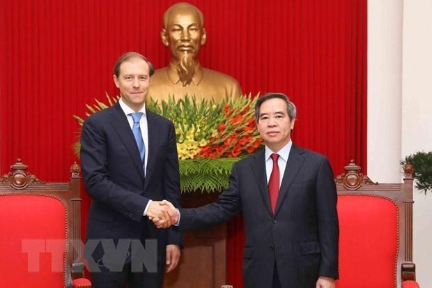 Promotion de la cooperation economique Vietnam-Russie hinh anh 1
